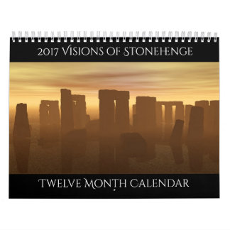 2017 visiones del calendario de Stonehenge