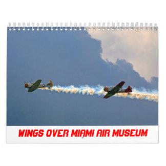 2018 alas sobre calendario del museo del aire de