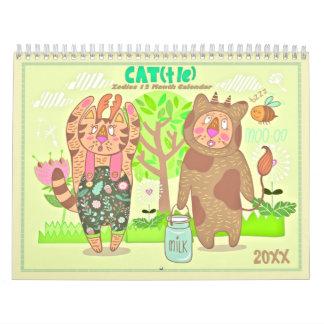2018 el calendario de los gatos del zodiaco