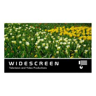 205 con pantalla grande - Flores de la primavera Tarjetas De Visita