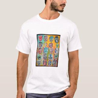 20 caras camiseta