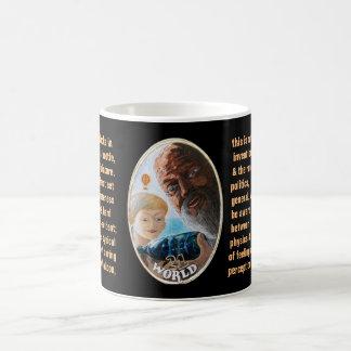 21. El mundo - tarot del marinero Taza De Café