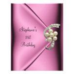 21ro Señora de seda rosada Girl de la joya de la p Anuncio Personalizado