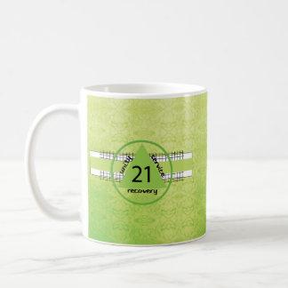 21ro Taza del regalo del aniversario de la