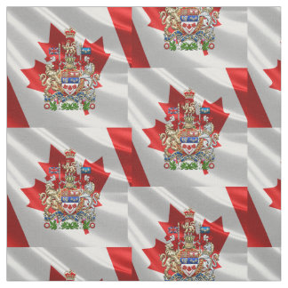 [220] Escudo de armas de Canadá [3D] Telas