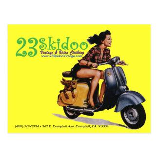 23 SkiPostcard Postal
