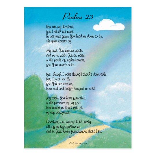 23ro Postal del salmo