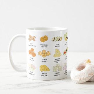 24 de las galletas tazas del conocimiento de