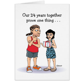 24to Tarjeta del aniversario de boda: Amor