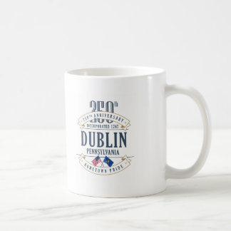 250a taza del aniversario de Dublín, Pennsylvania