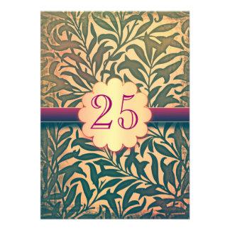 25 años del aniversario de las invitaciones de est