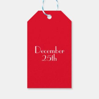 25 de diciembre etiquetas del regalo etiquetas para regalos