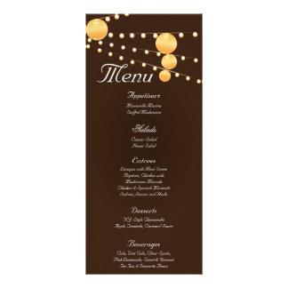 25 linternas de papel de las tarjetas del menú en  lonas personalizadas