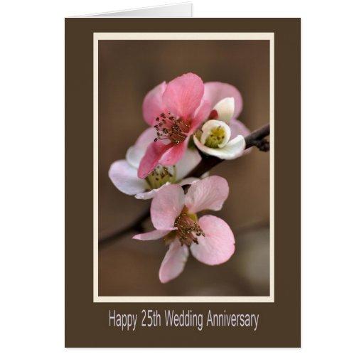 25to aniversario de boda feliz tarjetas