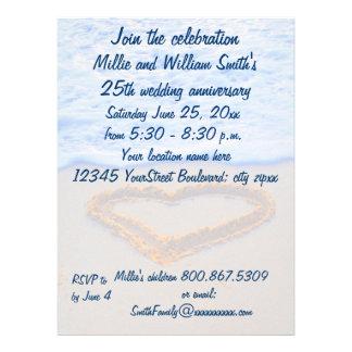 25to Aniversario de boda Invitacion Personal