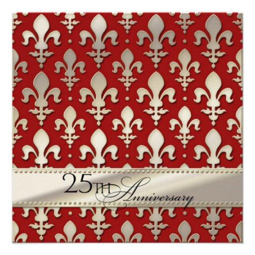 25to, aniversario de bodas de plata, flor de lis comunicados