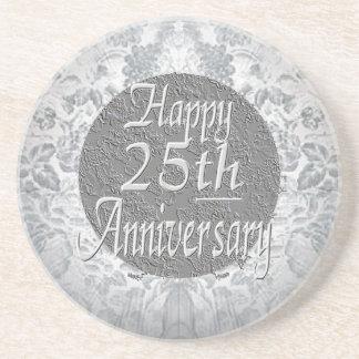 25to aniversario de la Plateado-Plata Apoyavasos