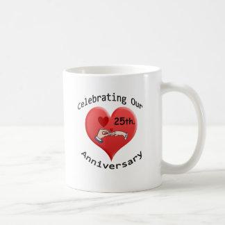 25to. Aniversario Taza De Café