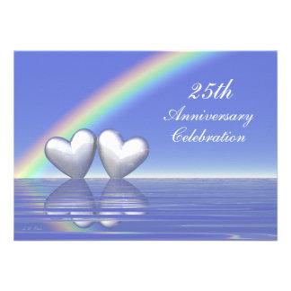 25to Corazones de plata del aniversario Comunicados