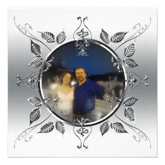 25to El aniversario de bodas de plata añade la fot Invitación