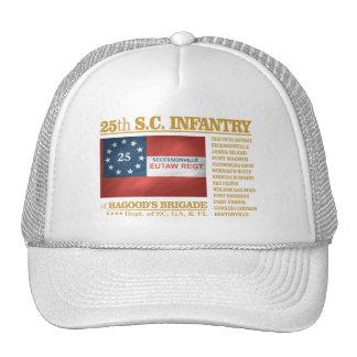 25to Infantería de Carolina del Sur (BA2) Gorro