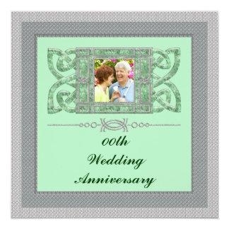 25to Invitación de la fiesta de aniversario del