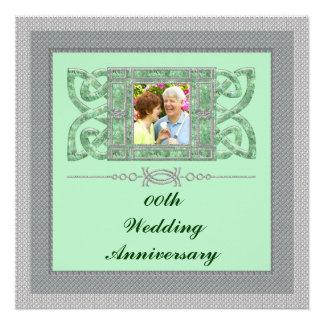25to Invitación de la fiesta de aniversario del bo