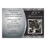25to Invitaciones del aniversario de boda