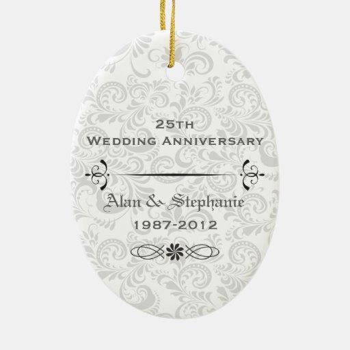 25to Ornamento del día de fiesta del aniversario Ornamento De Reyes Magos