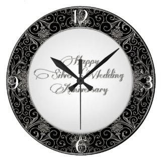 25to Reloj del aniversario de boda
