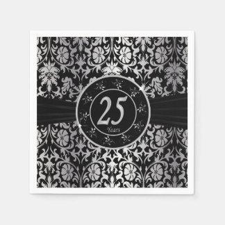 25to Texto del aniversario de bodas de plata el | Servilletas De Papel