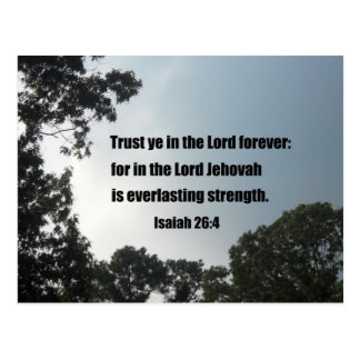 26:4 de Isaías Postal