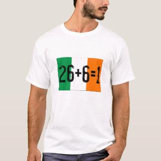 26+6=1 unifican camiseta
