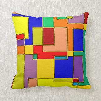 #26 abstracto cojín decorativo