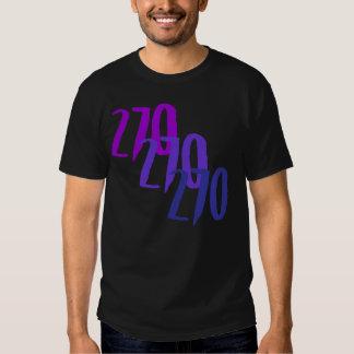 270 cortados camisetas