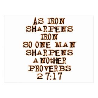 27 17 de los proverbios postal