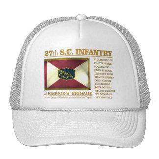 27mo Infantería de Carolina del Sur (BA2) Gorras