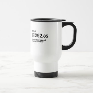 292,85, disorde Cafeína-inducido del sueño Taza De Viaje