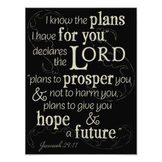 29:11 de Jeremiah sé los planes que tengo para Foto