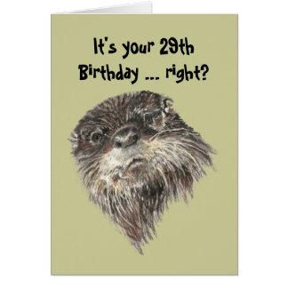 29no humor del cumpleaños de la edad avanzada con  tarjetas