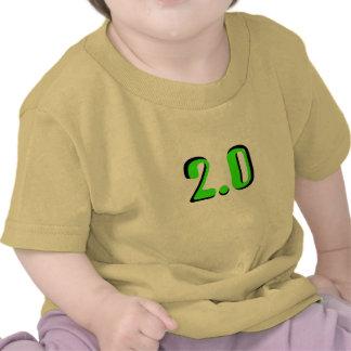 2,0 Camiseta del bebé