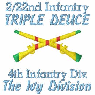 2/22o Inf. 4to Polo cruzado VSM de los rifles de l