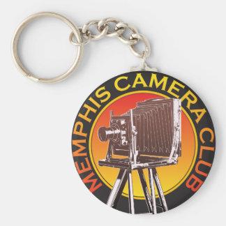 """2,25"""" llavero básico del logotipo de la cámara de"""