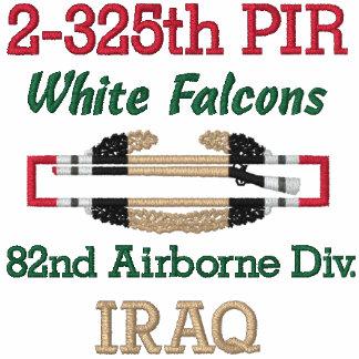 2-325o Camisa de la insignia del soldado de