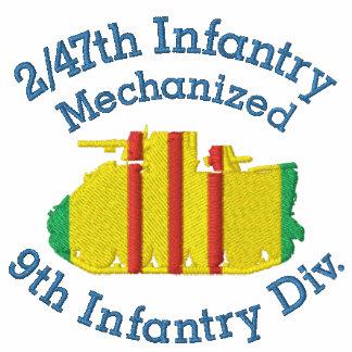 2/47o Frente de los Inf APC, camisa bordada manga