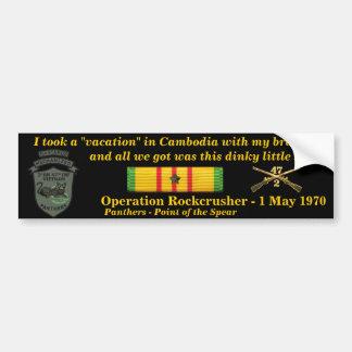 2/47o Vacaciones camboyanas Pegatina Para Coche