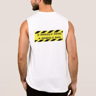 """""""2 buenas"""" camisetas sin mangas de ciclo de las"""