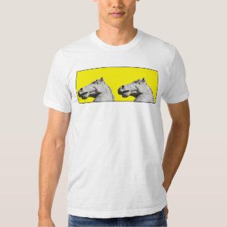 2 caballos camiseta
