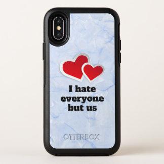 2 corazones rojos - odio cada uno pero nos