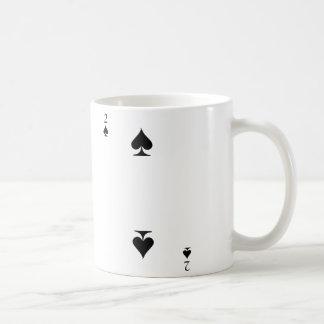 2 de espadas taza de café